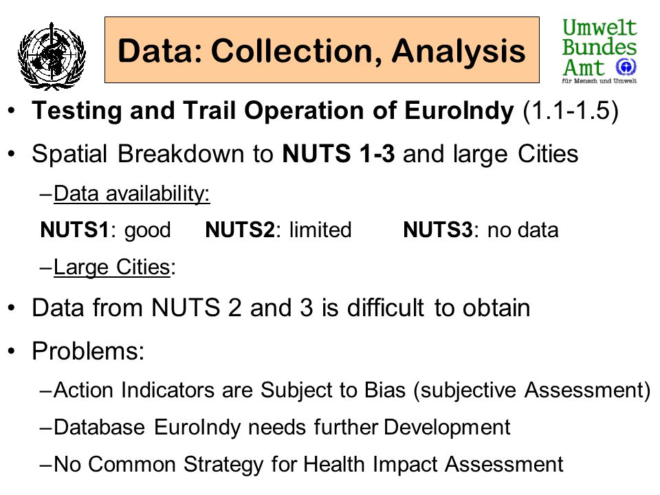 Data: Collection, Analysis