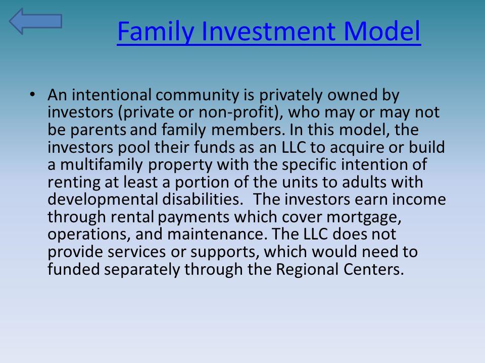 Family Investment Model