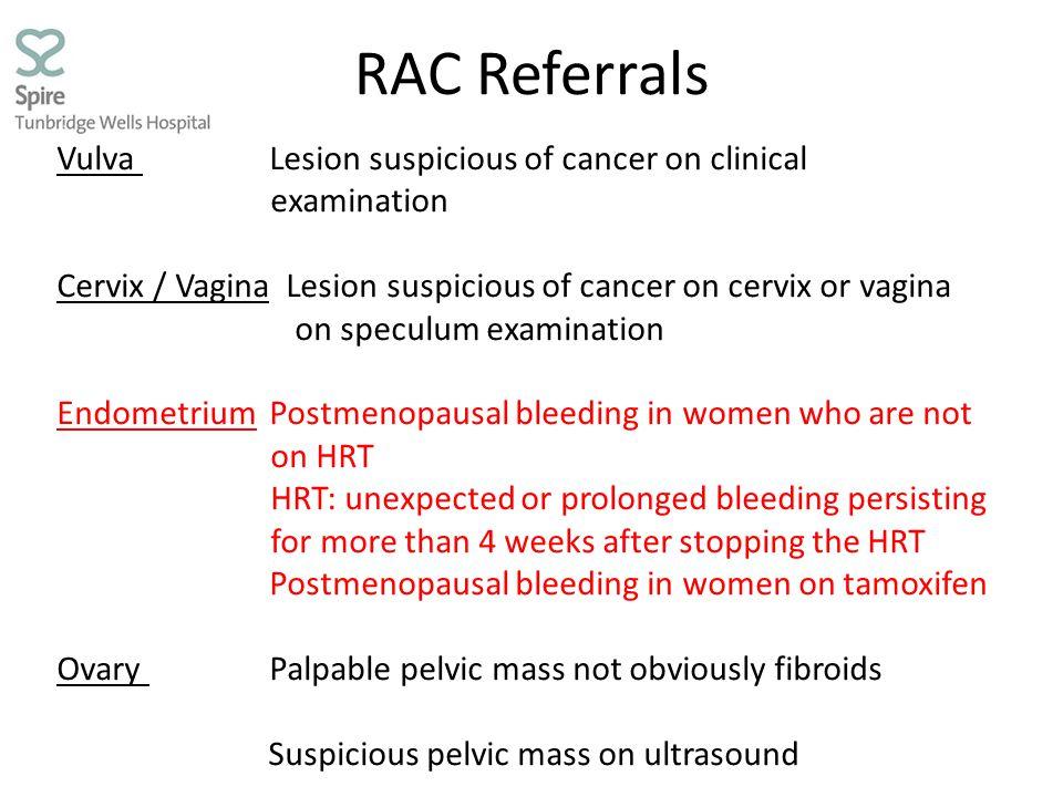 RAC Referrals