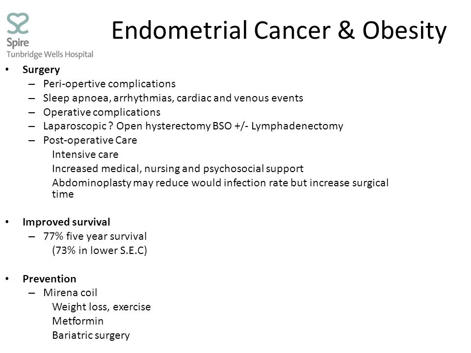 Endometrial Cancer & Obesity