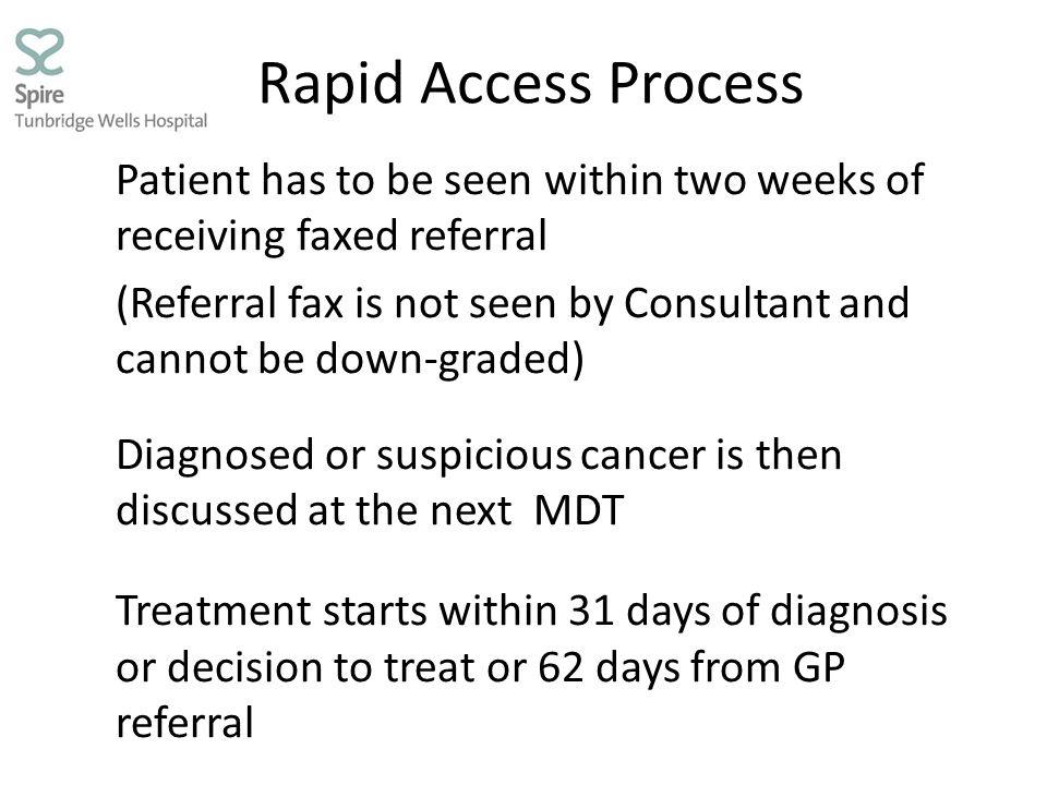 Rapid Access Process