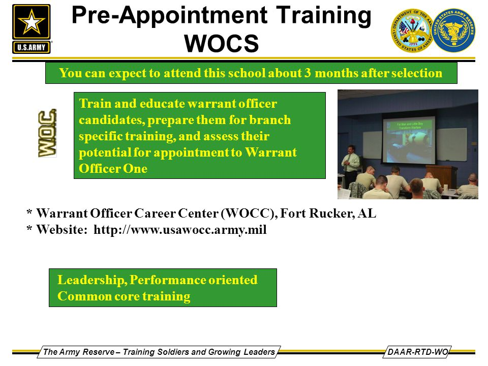 Army strong warrant officer program ppt video online - How to become an army officer after college ...