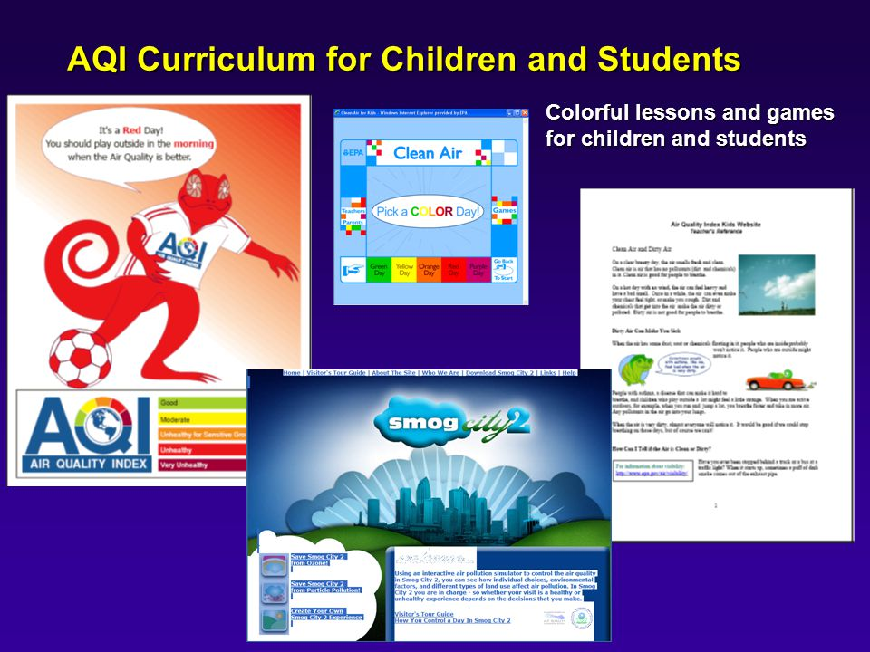 AQI Curriculum for Children and Students