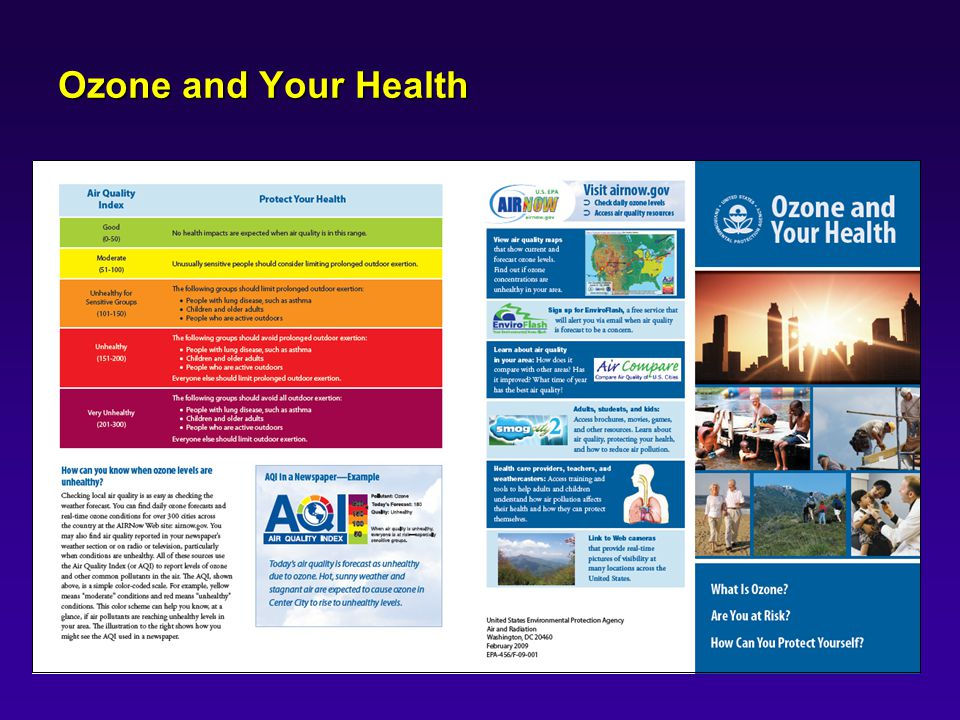 Ozone and Your Health