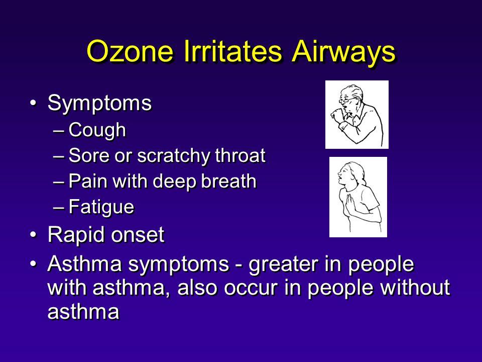 Ozone Irritates Airways