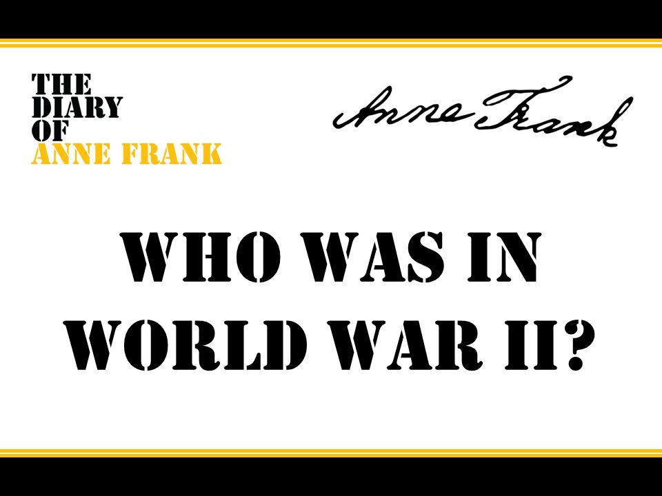 Who was in World War II