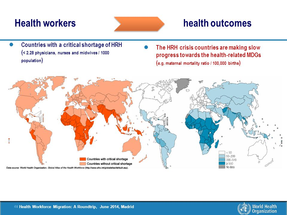 Health workers health outcomes