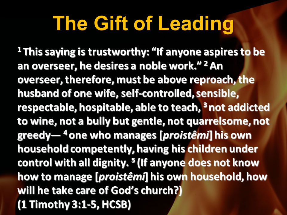 The Gift of Leading