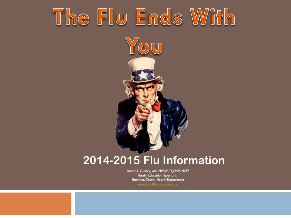 The Flu Ends With You 2014-2015 Flu Information
