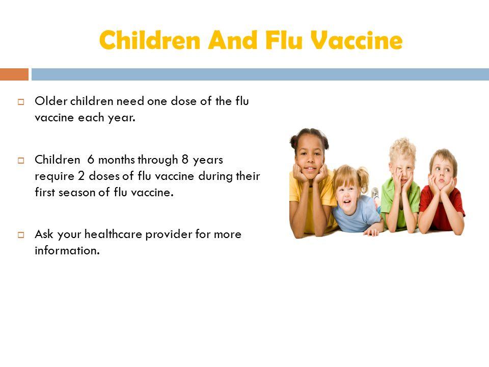 Children And Flu Vaccine