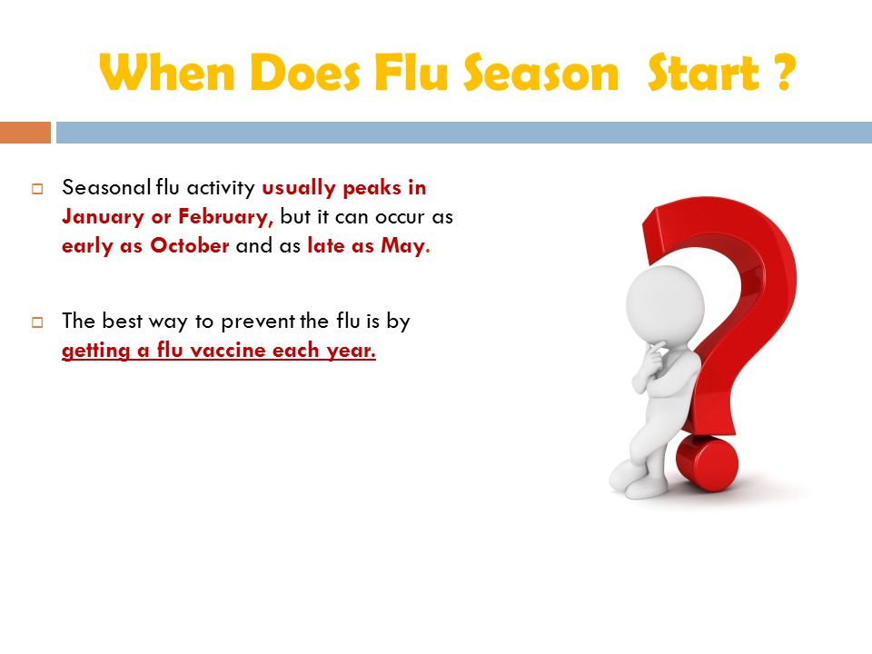 When Does Flu Season Start