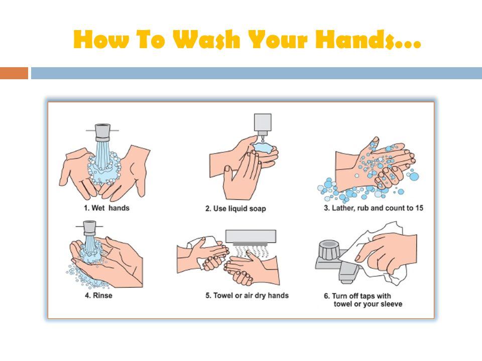 How To Wash Your Hands…