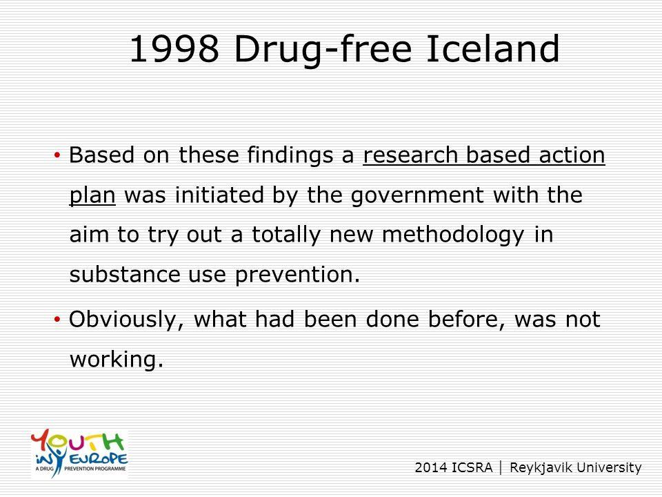 1998 Drug-free Iceland