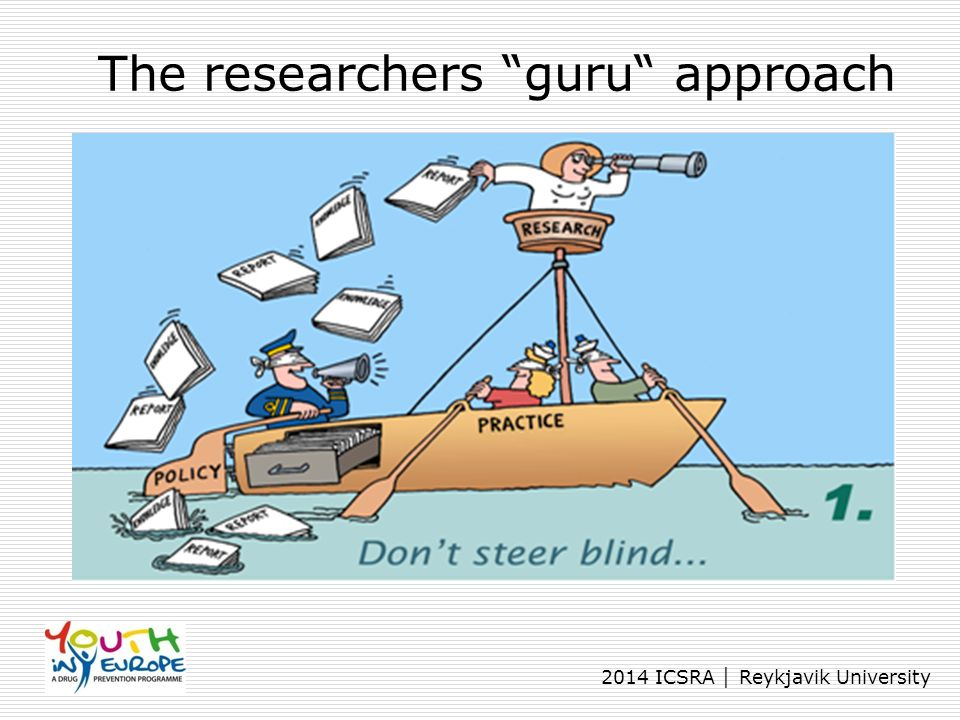 The researchers guru approach