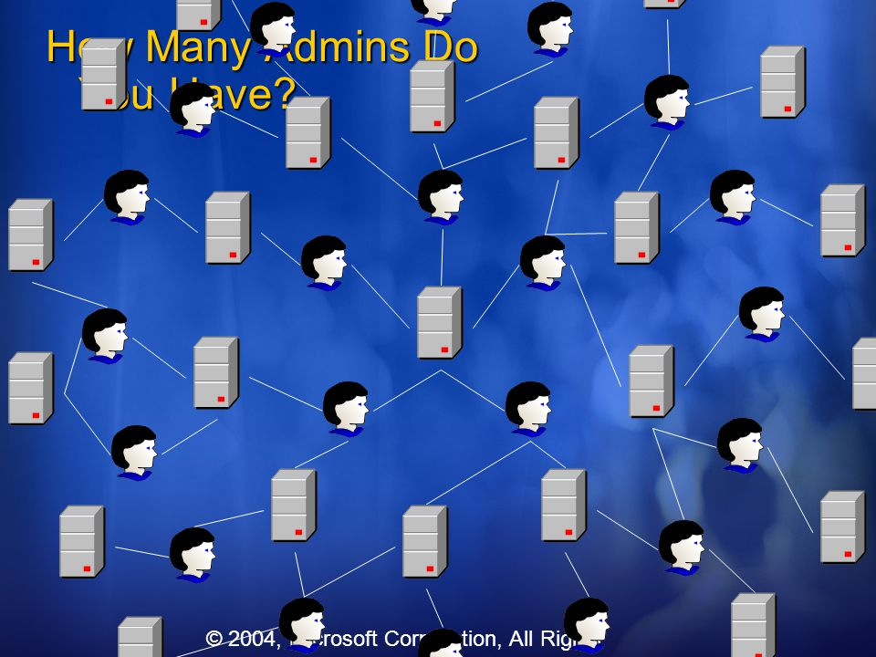How Many Admins Do You Have