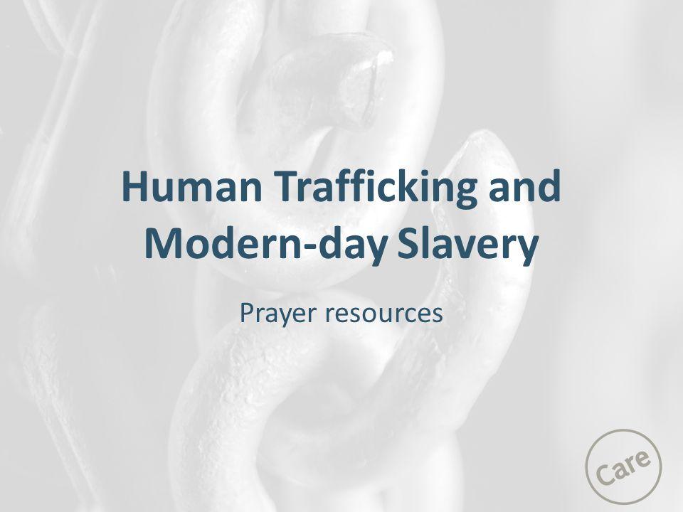 Human Trafficking and Modern-day Slavery