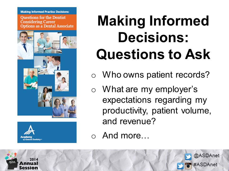 Making Informed Decisions: Questions to Ask