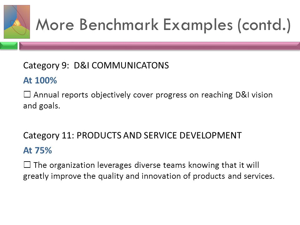More Benchmark Examples (contd.)