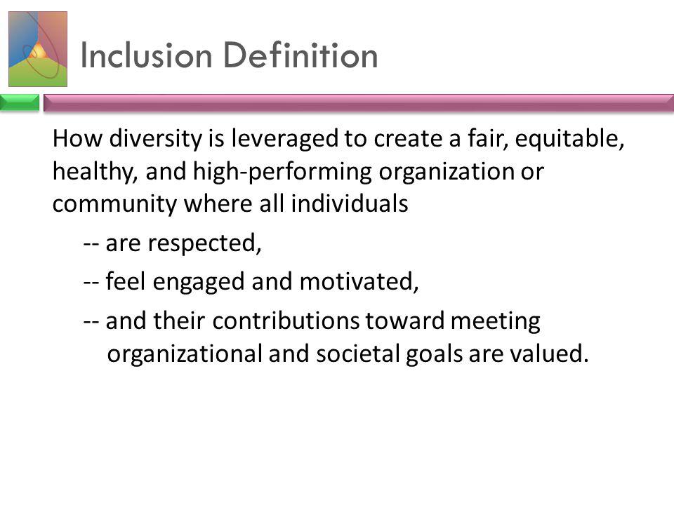 Inclusion Definition