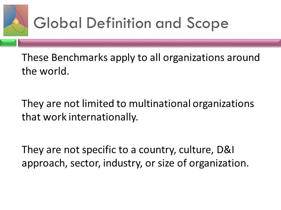Global Definition and Scope