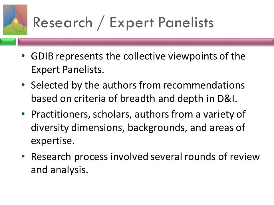 Research / Expert Panelists