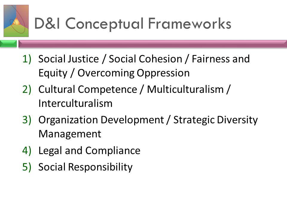 D&I Conceptual Frameworks