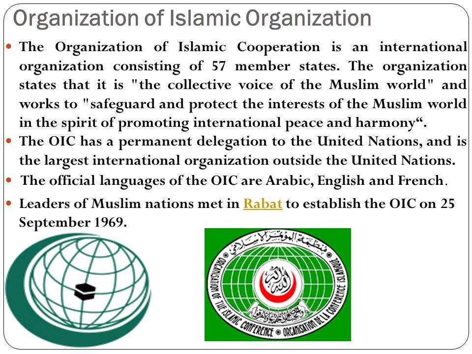 Organization of Islamic Organization