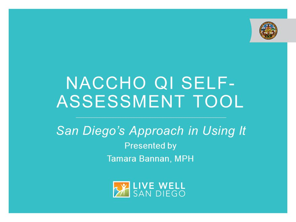 Naccho qi Self-assessment tool