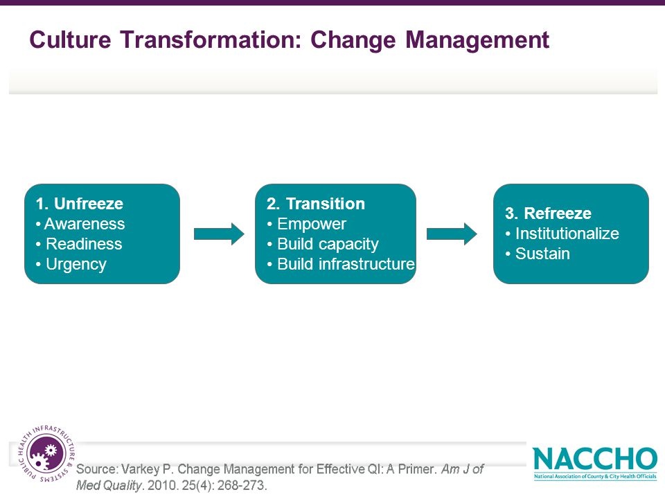 Culture Transformation: Change Management