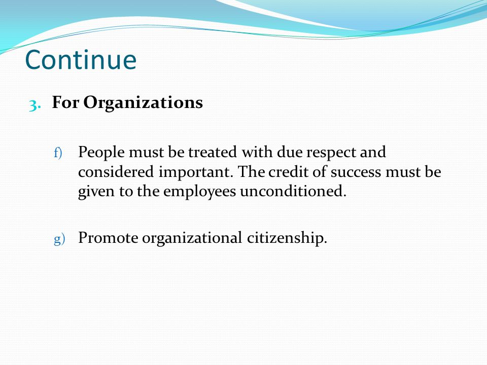 Continue For Organizations