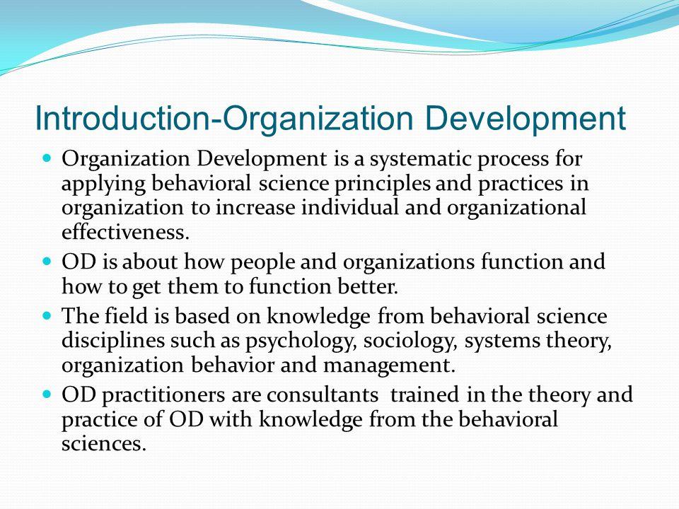 Introduction-Organization Development