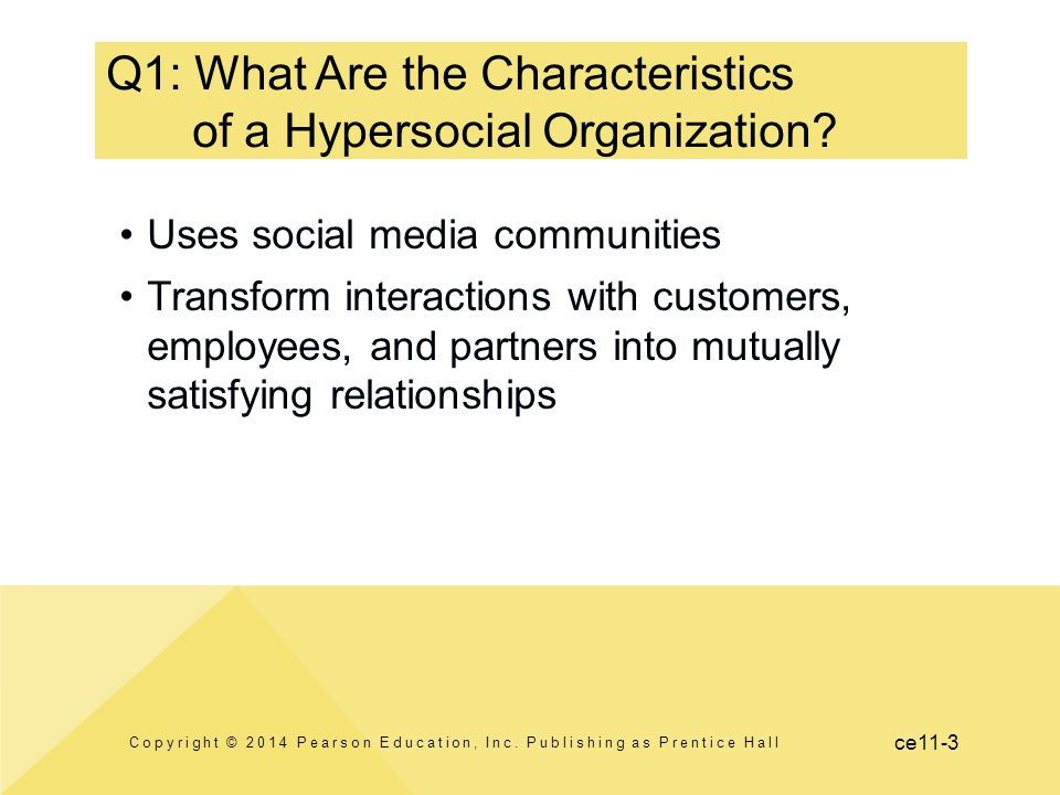 Q1: What Are the Characteristics of a Hypersocial Organization