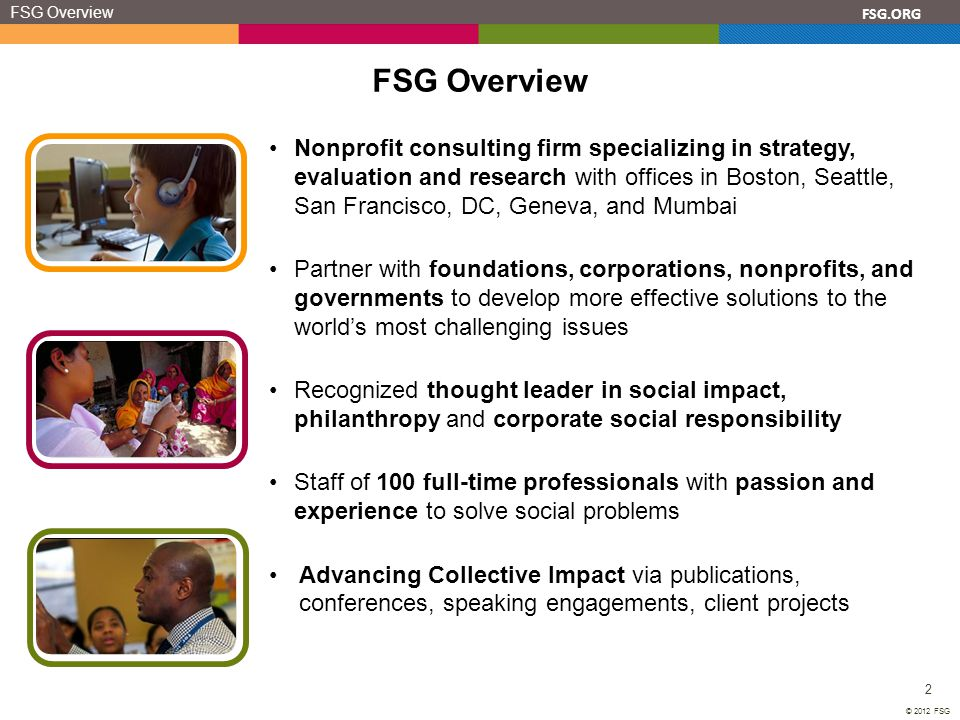 FSG Overview FSG Overview.