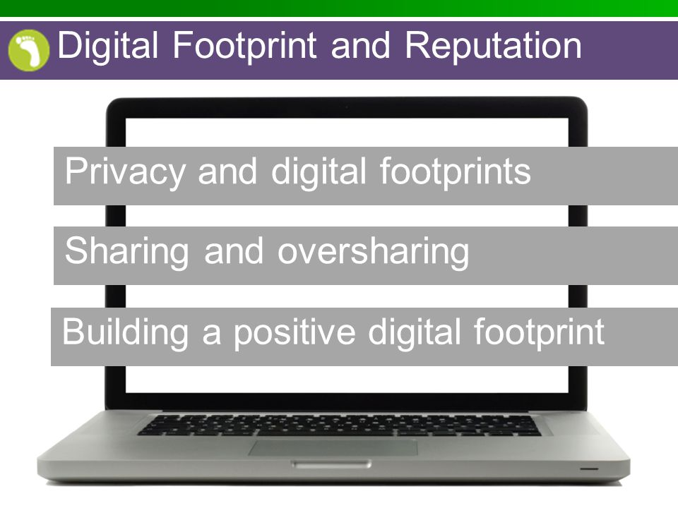 Privacy and digital footprints