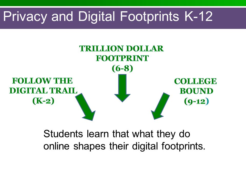 Privacy and Digital Footprints K-12