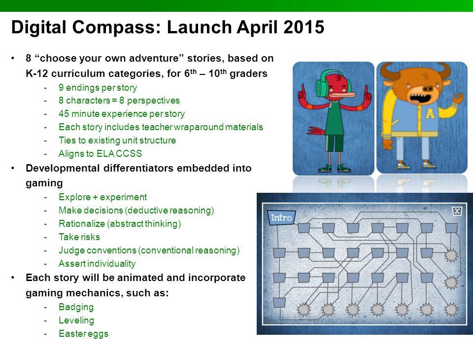 Digital Compass: Launch April 2015
