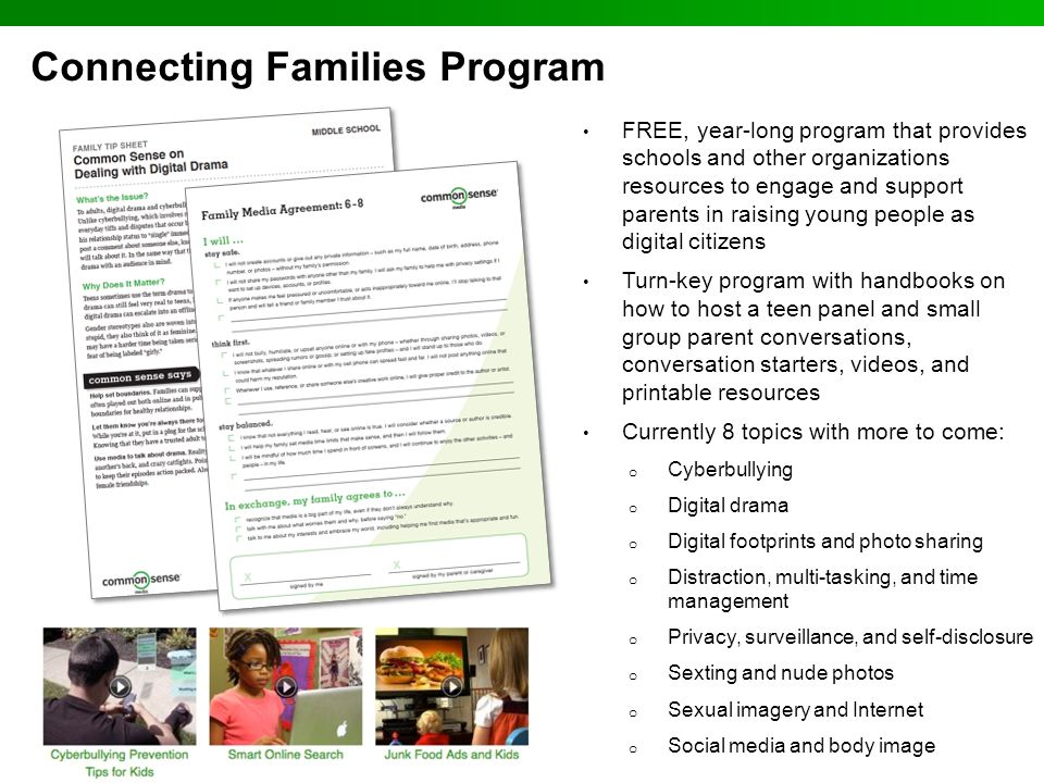 Connecting Families Program
