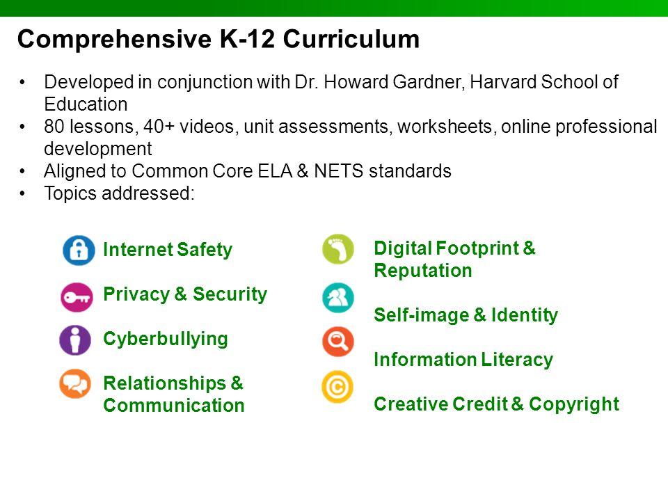 Comprehensive K-12 Curriculum