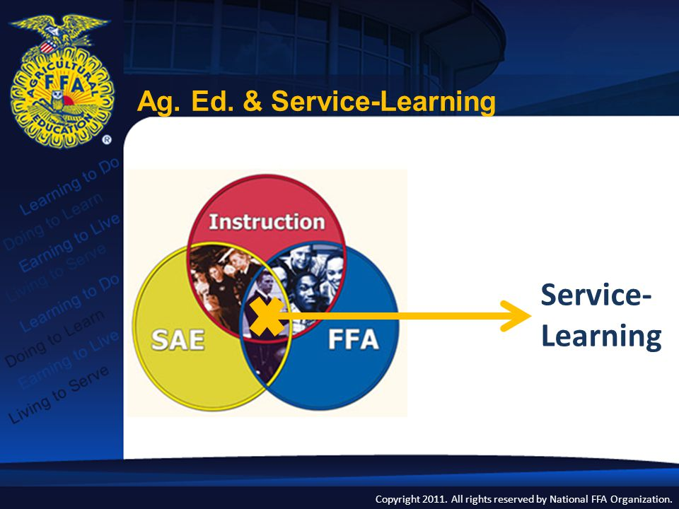 Ag. Ed. & Service-Learning