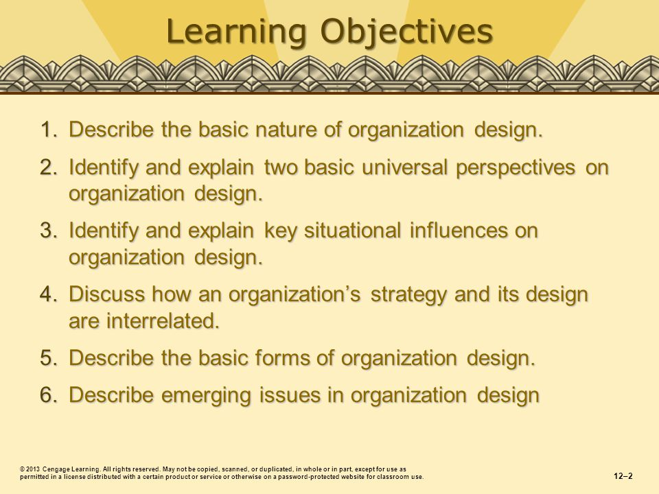 Describe the basic nature of organization design.