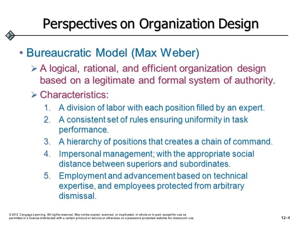 Perspectives on Organization Design