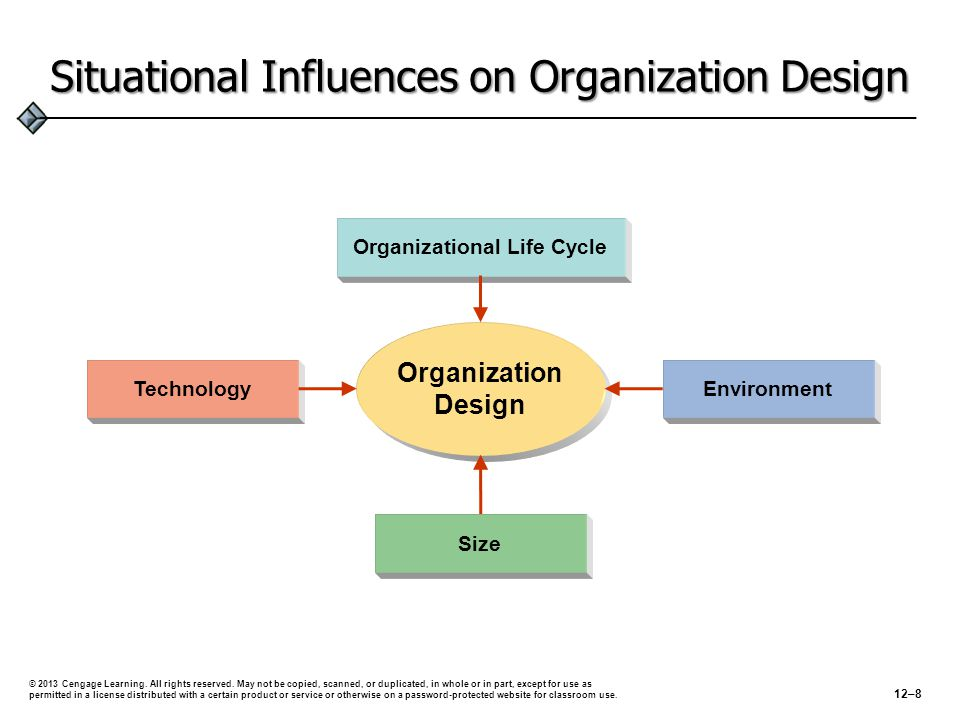Situational Influences on Organization Design
