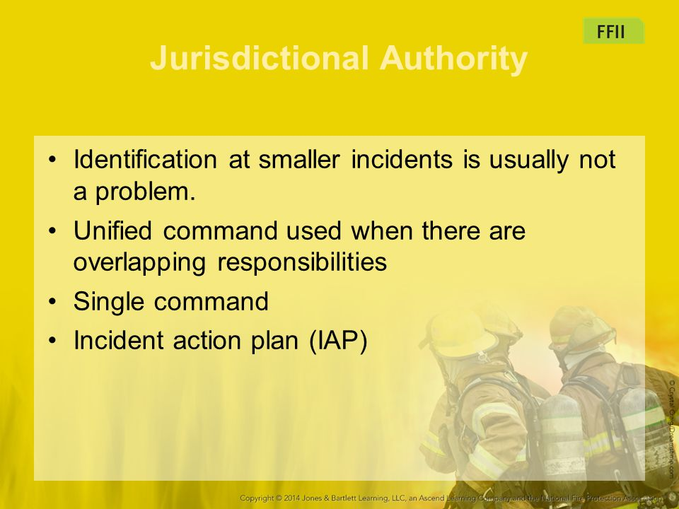 Jurisdictional Authority