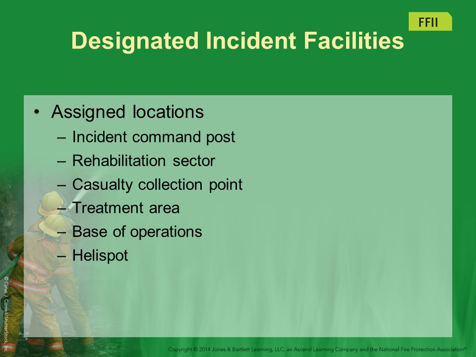 Designated Incident Facilities