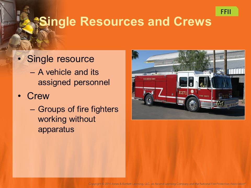 Single Resources and Crews