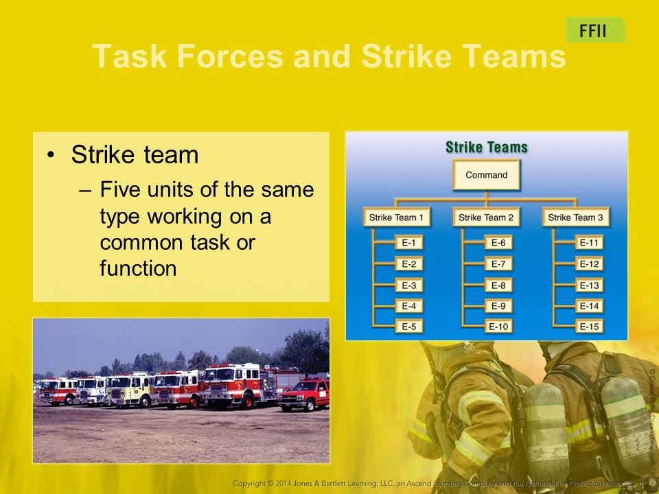 Task Forces and Strike Teams