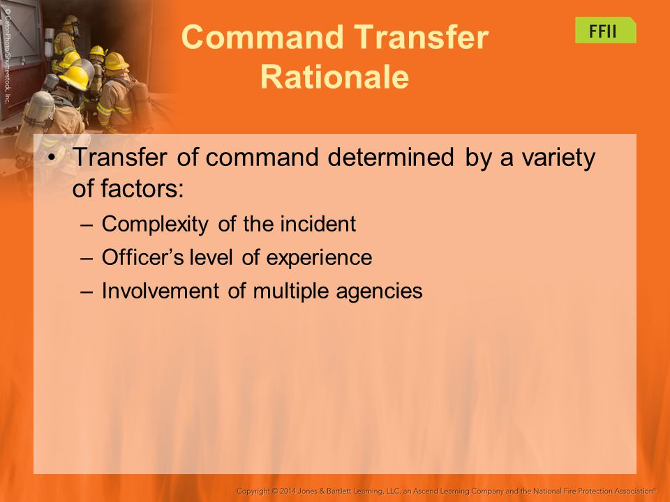 Command Transfer Rationale
