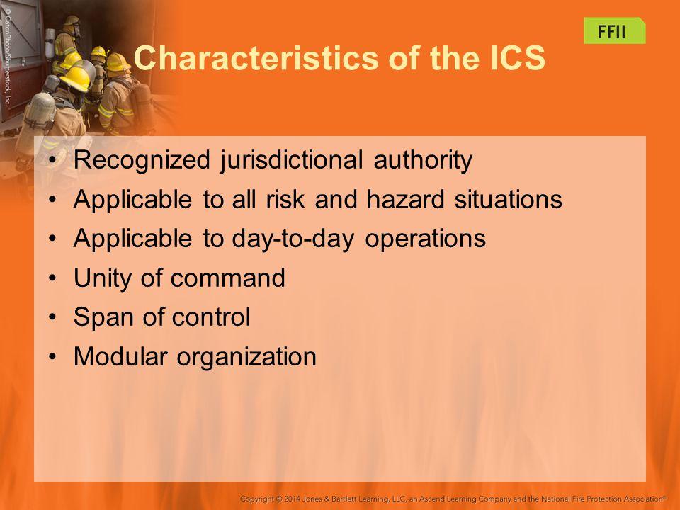 Characteristics of the ICS