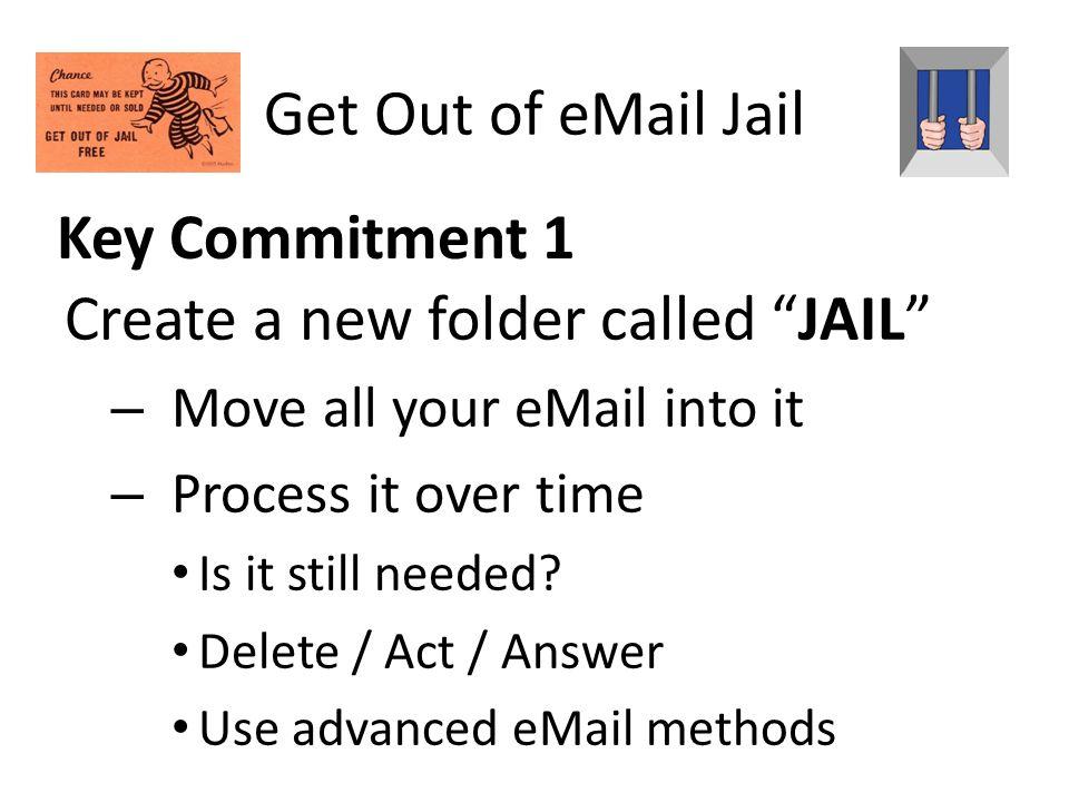 Create a new folder called JAIL