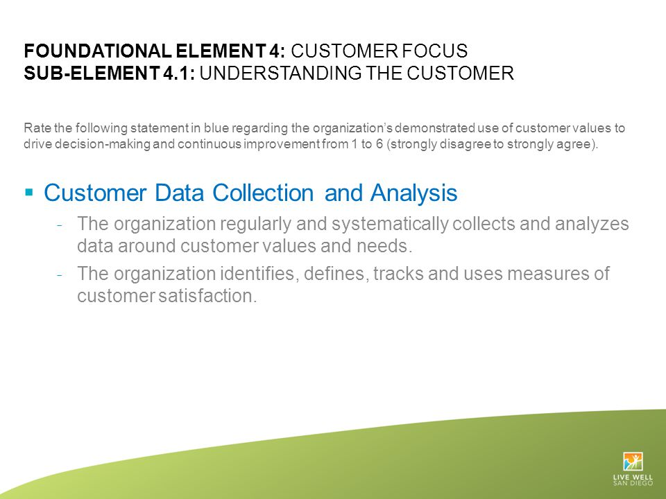 Customer Data Collection and Analysis